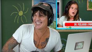 Reacţia magistrală a lui Tommy Lee privind cum reacţionează nişte copii, când privesc clipurile cu Mötley Crüe