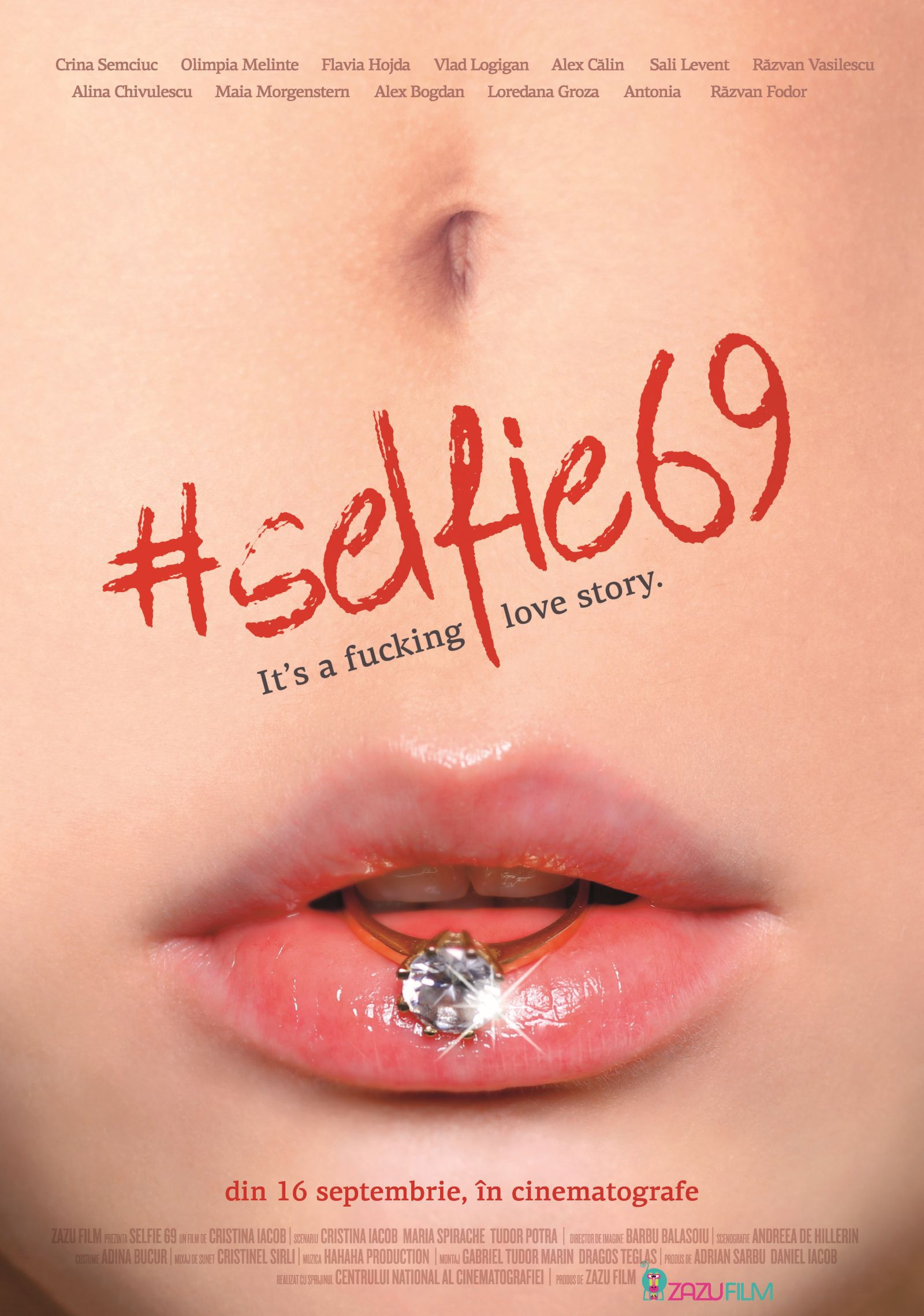 Posterul filmului  #selfie69 interzis de Facebook