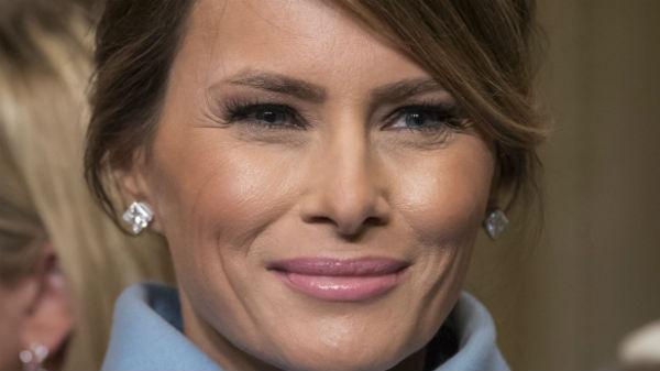 Melania Trump, portretul oficial al Primei Doamne