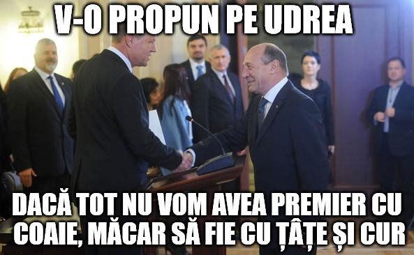 Propunerea lui Băsescu pentru Iohannis