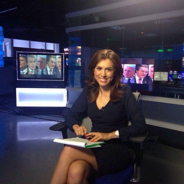 Denise Rifai, apariţie de senzaţie, în direct , la TV