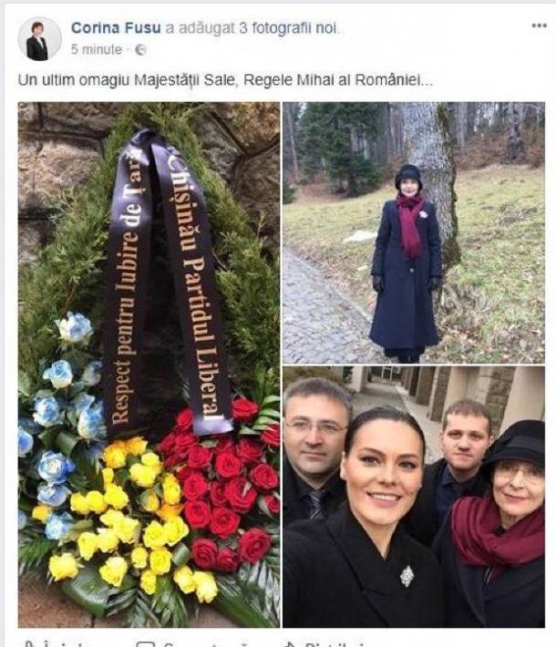 Politicienii moldoveni, selfie-uri  la funeraliile Majestăţii Sale