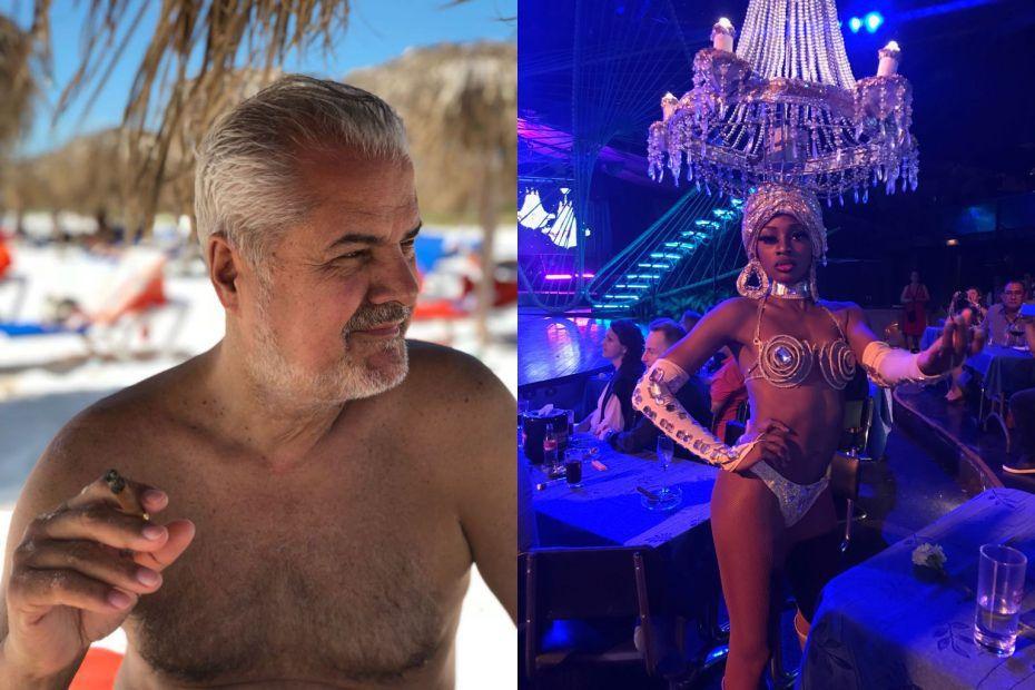 Adrian Năstase, la bustul gol, în vacanţa din Cuba. Interzis minorilor!
