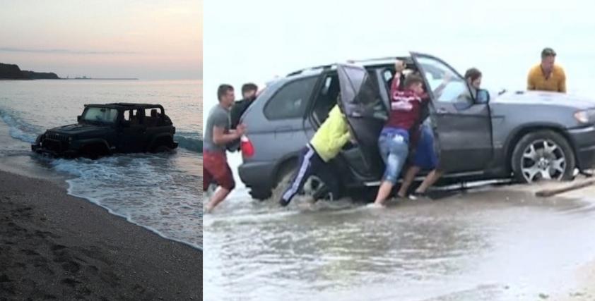 România va asfalta Marea Neagră, ca să nu mai rămână cocalarii cu maşinile în apă!