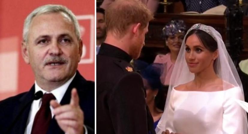 Dragnea supărat că nu a fost invitat la nunta regală, şi singur şi-a dat titlu de regele hoţilor