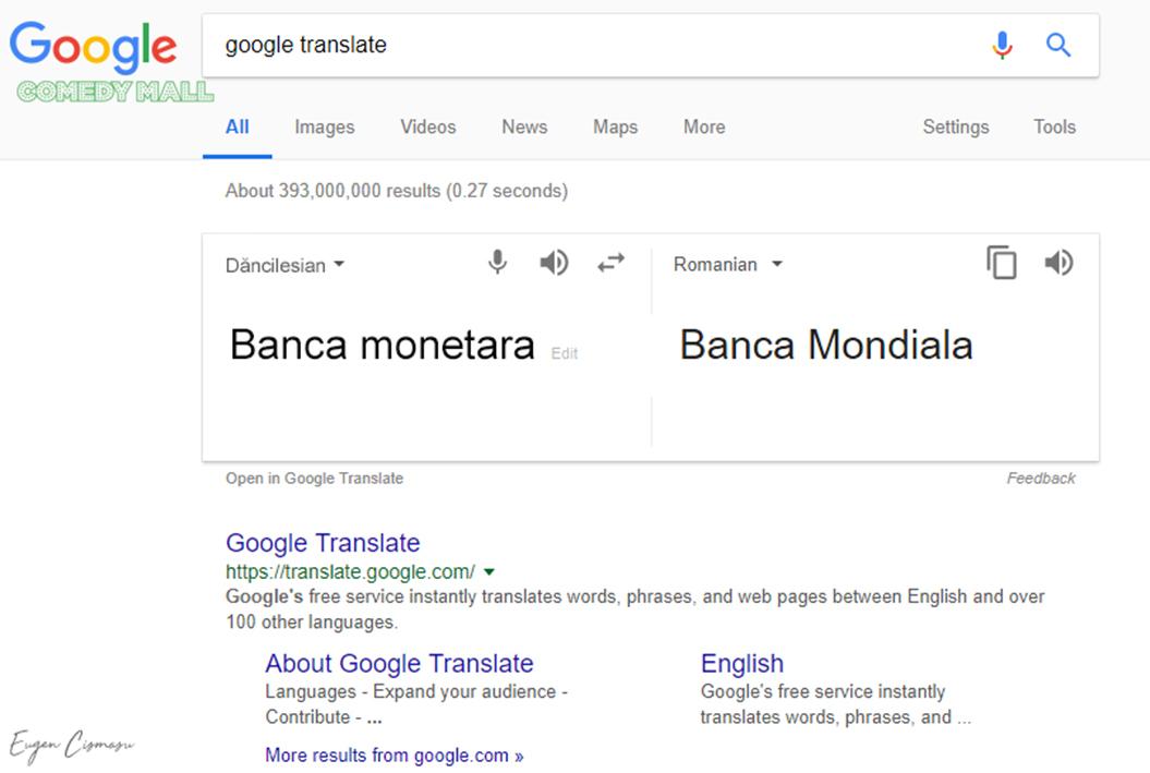 După discursul Vioricăi Dăncilă din Parlament, Google a introdus o nouă limbă în meniul Translate: dăncileza