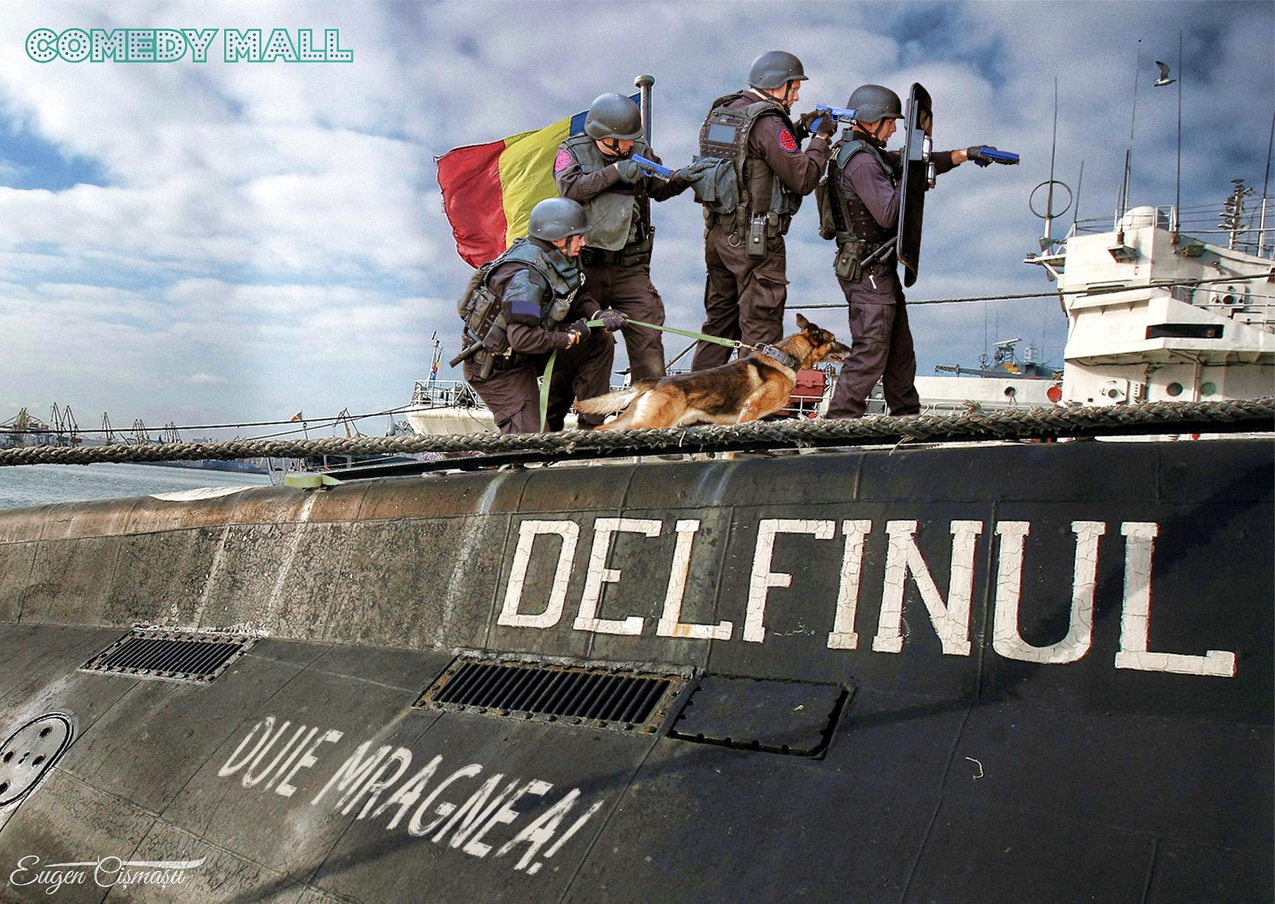 Panică pe Litoral! Mascaţii au oprit la Constanţa un submarin negru care fură...