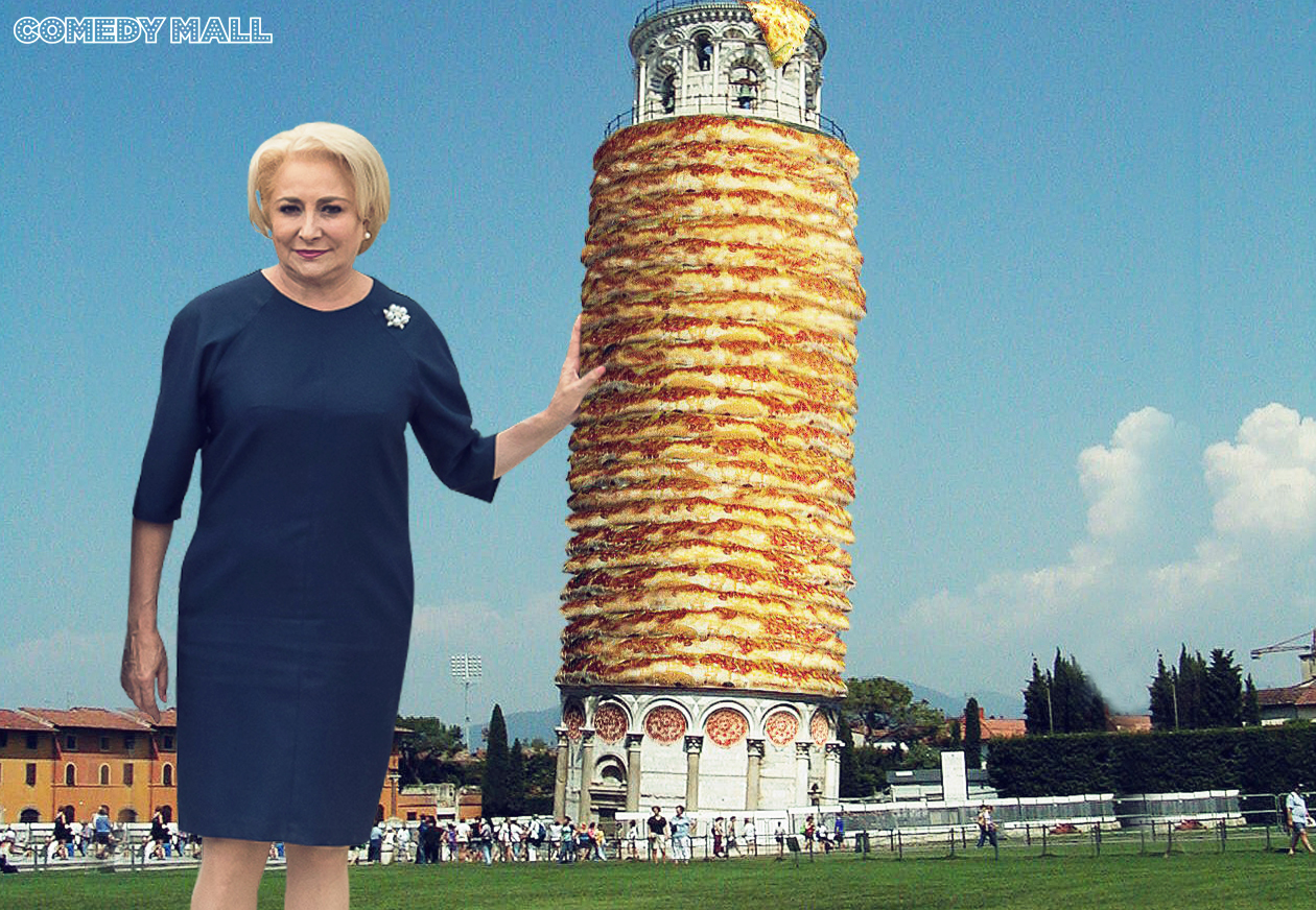 """Viorica Dăncilă: """"Mi-aş dori să vizitez în concediu Turnul din Pizza!"""""""
