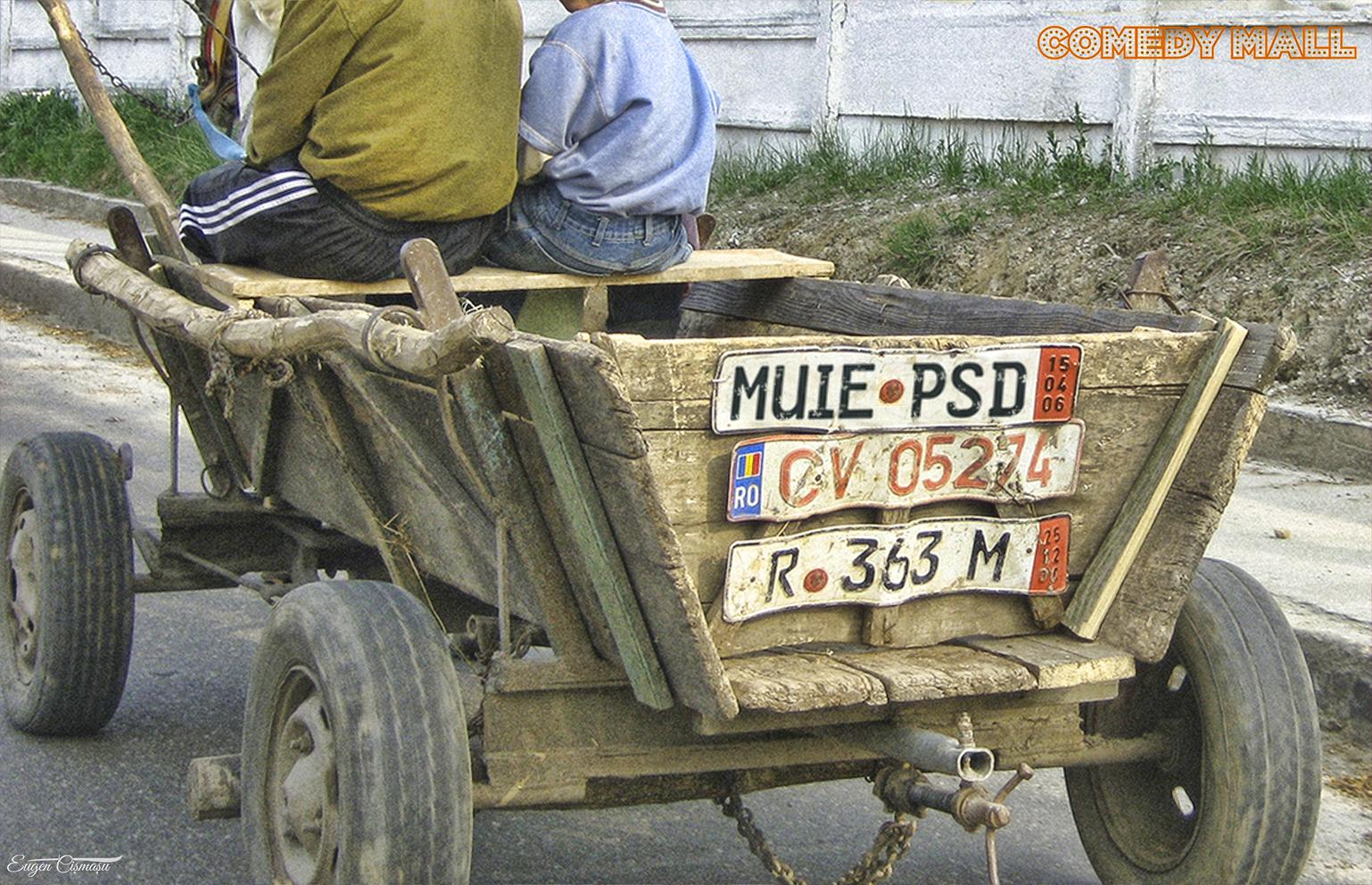 Un vasluian se laudă cu cel mai vechi număr anti PSD din România!