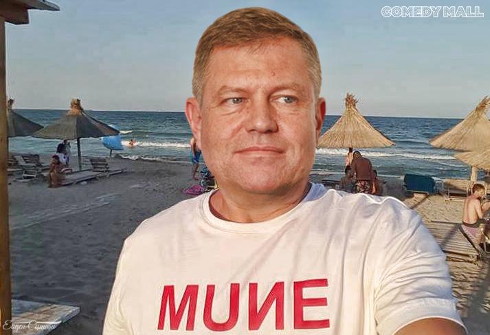 Scandal la ambasada Rusiei din cauza fotografiei cu Iohannis în tricou anti PSD!