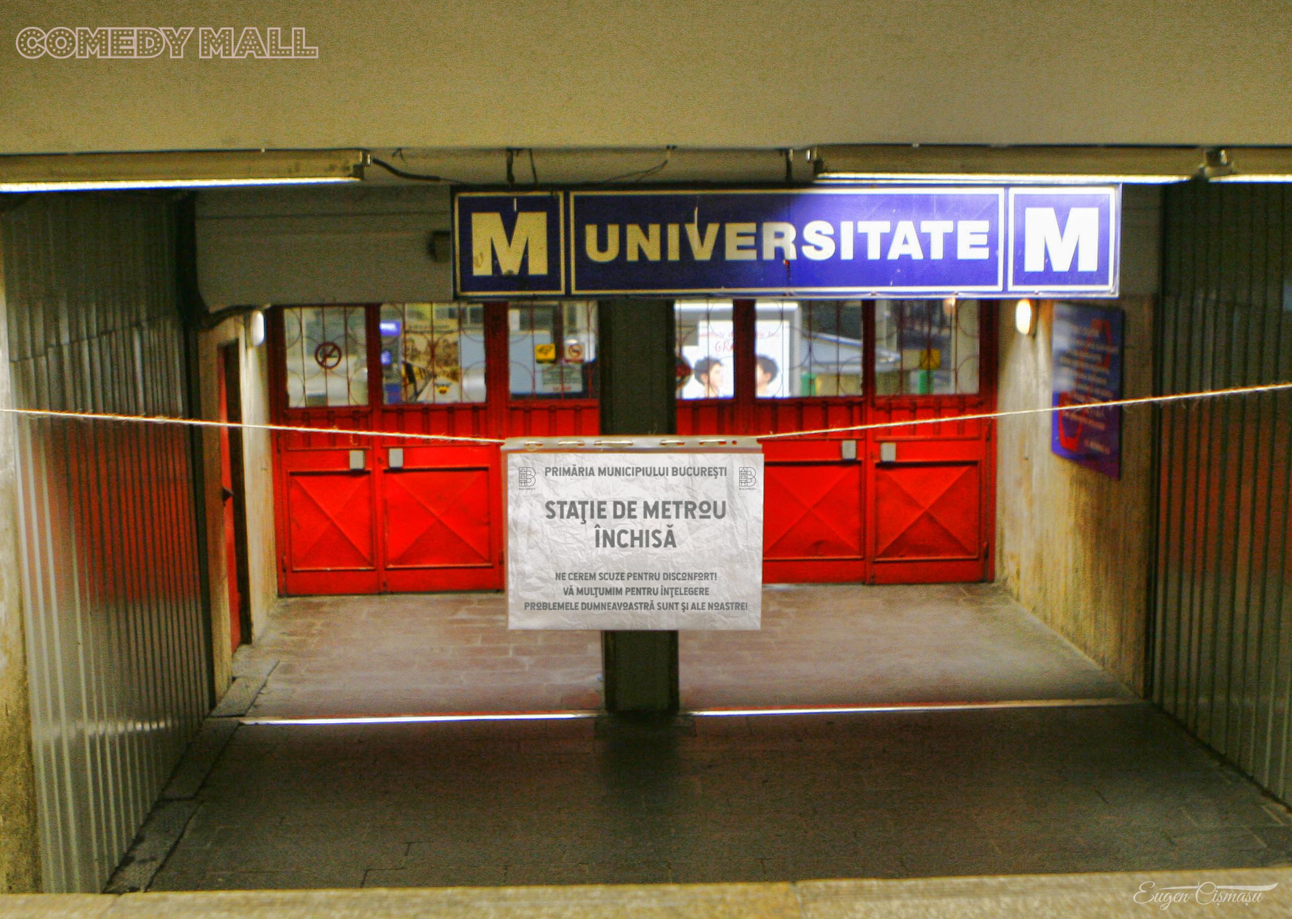 Primarul Gabriela Firea ar putea închide azi staţiile de metrou cu acces către Piaţa Victoriei!