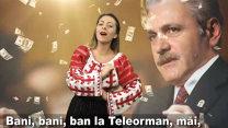 """VIRAL: Dragnea şi-a tras hit! """"Ce noroc c-avem baştan / Din judeţul Teleorman"""""""