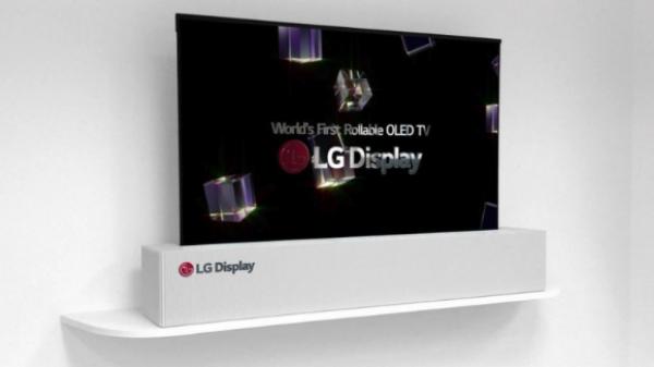 LG a prezentat, la expoziţia din Las Vegas, televizorul care se rulează ca o foaie de hârtie