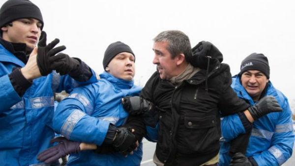 Seful Jandarmeriei, despre protestatarul surdo-mut amendat: A fost corect