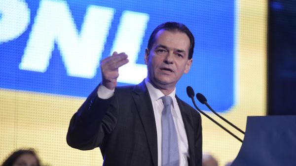Ludovic Orban anunţă că el va fi propunerea liberalilor pentru funcţia de premier
