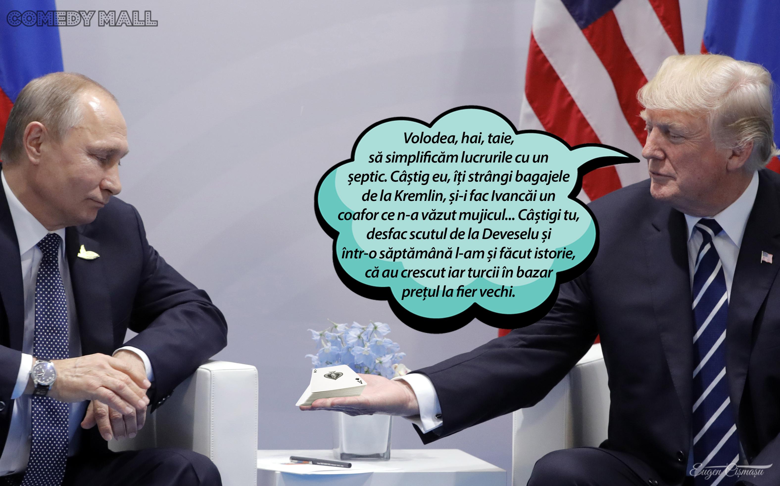 Discuţii între Trump şi Putin pe tema scutului anti-rachetă de la Deveselu