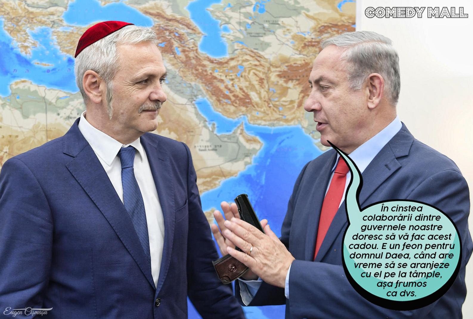 """Israelului anunţă o şedinţă comună la Bucureşti. Şedinţa va purta, probabil, numele de """" Make foto"""" ."""