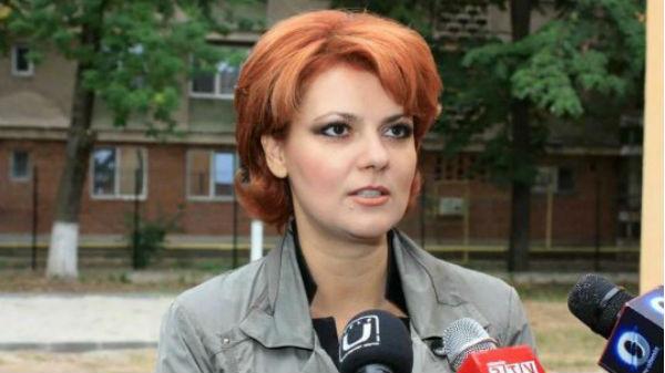 """Liberalii depun o moţiune simplă intitulată """"Lia Olguţa Vasilescu-Ministrul Minciunii şi al Injustiţiei Sociale"""