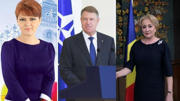Veorica Dăncilă şi Olguţa Vasilescu, chemate la Cotroceni să dea socoteală unde sunt banii românilor din creşterea economică