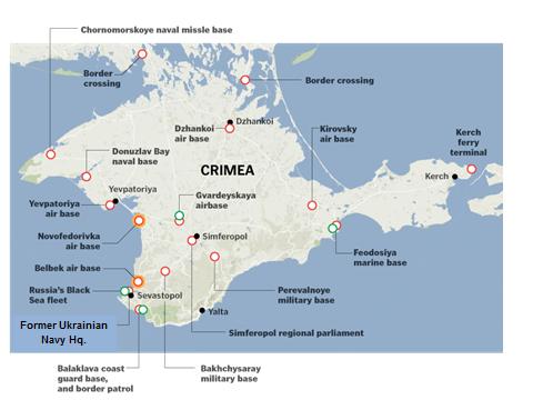 Baze  militare  în  Crimeea