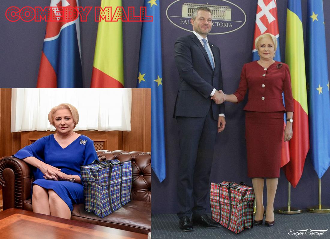 Elena Udrea e nimic! Dăncilă şi-a etalat genţile de 100.000 de dolari, care îşi schimbă culorile în funcţie de taior!