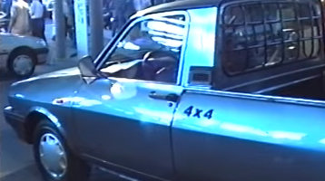 Dacia şi Aro la primul Salon Auto după Ceauşescu