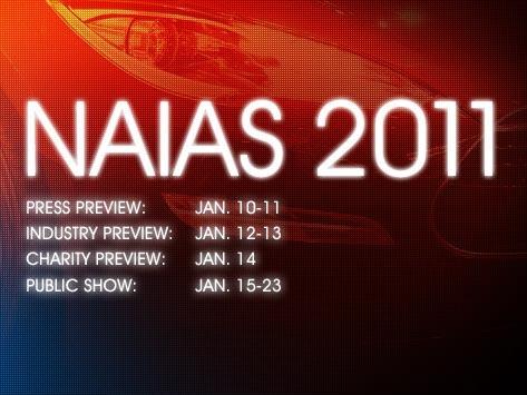 Salonul Auto Detroit 2011 - NAIAS 2011 Motorshow