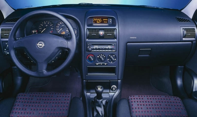 Opel Astra G Interior on 1995 Kia Sorento
