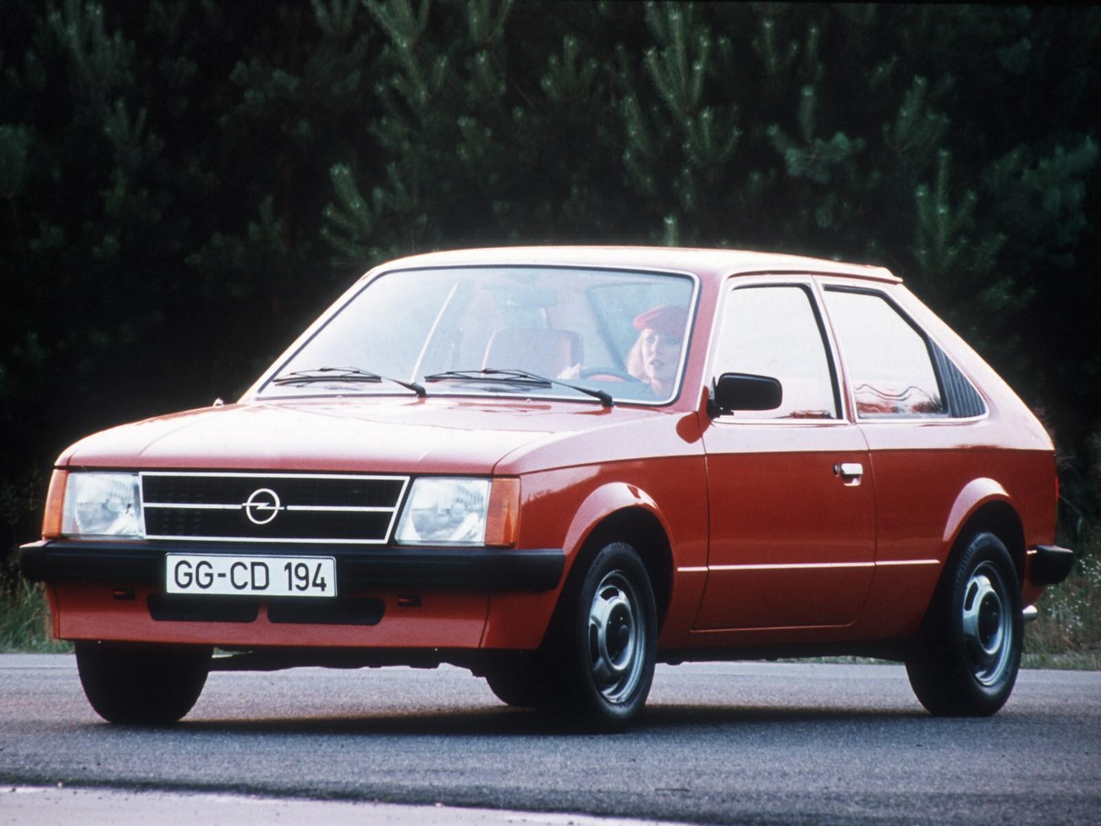 Opel Astra - înainte de era