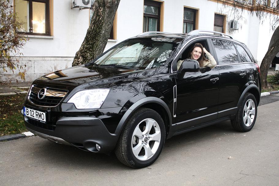 Interviu - Adela Popescu şi Opel Antara