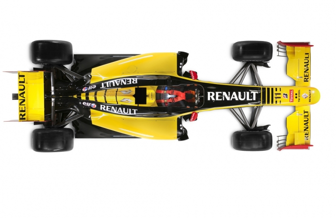 Renault R30 noul monopost