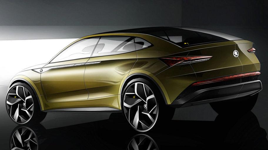 Vision e modelul prezentat de cehi la Salonul Auto de la Shanghai (GALERIE FOTO)