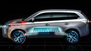 Mitsubishi lansează Outlander PHEV, primul SUV hibrid plug-in