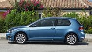 Primele imagini cu varianta în trei uşi a noului VW Golf 7