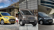 Ford a lansat noile generaţii ale modelelor Tourneo Connect, Transit şi Transit Connect