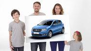 Primele poze cu Dacia Sandero - aşa arată noul Sandero 2