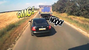 VIDEO: Aşa fac legea pe şosele tiriştii din Rusia