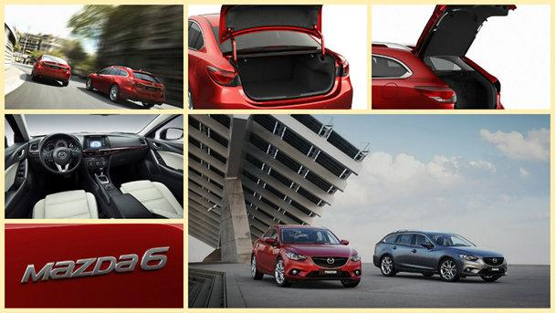 Noua Mazda6: galerie foto cu peste 100 de imagini