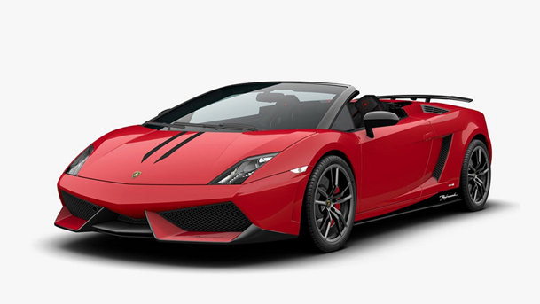 Lamborghini Gallardo Spyder a primit un facelift