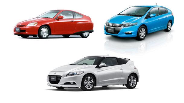 Honda a vândut un milion de maşini hibride în 13 ani