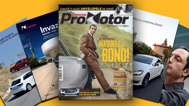 Revista ProMotor nr. 96, din noiembrie, anunţă o iarnă... HOT!