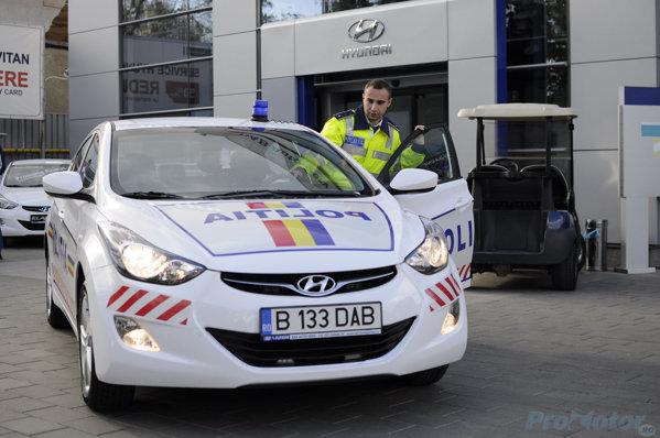 Hyundai Elantra Politie