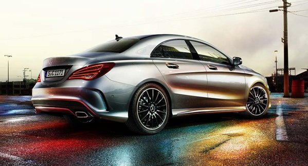 Mercedes-Benz CLA rear view