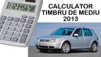 Timbrul de mediu  cum se calculeaz noua tax auto