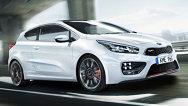 Primele imagini şi informaţii oficiale cu noua Kia Pro_cee'd GT