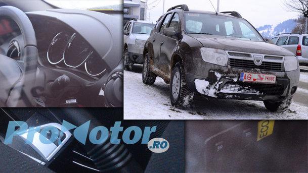 Am spionat DUSTER FACELIFT! Iată ce dotări noi testează Dacia pentru Duster facelift