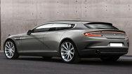 Conceptul Aston Martin Rapide shooting-brake, gata de debutul la Geneva