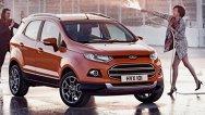 Primele imagini cu versiunea europeană Ford EcoSport, rivalul lui Juke şi Mokka