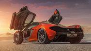 McLaren P1 - Primele imagini şi detalii oficiale