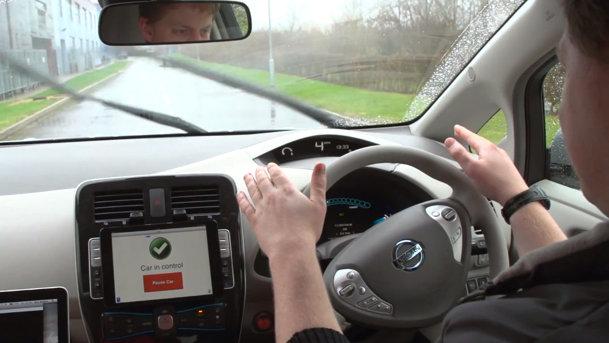 VIDEO: Maşina autonomă controlată prin iPad